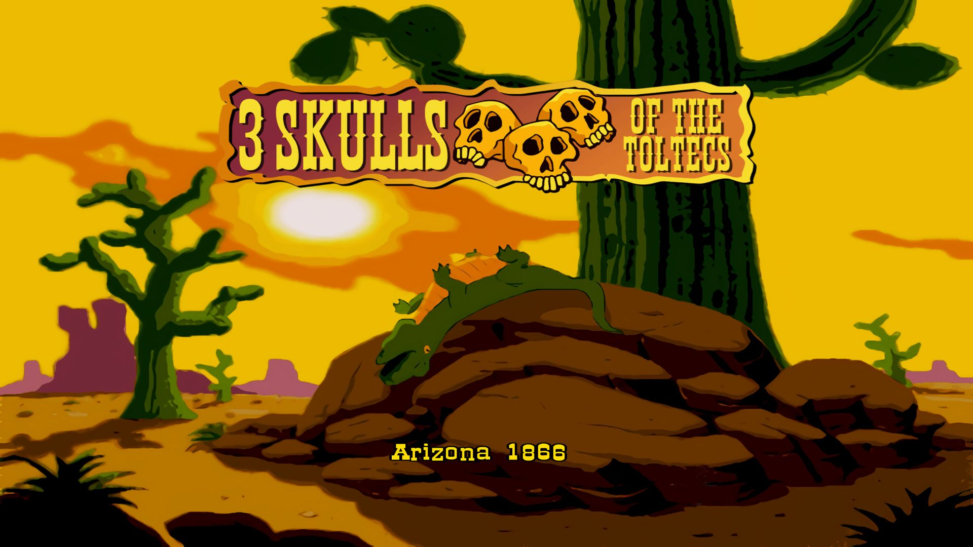 Fenimore Fillmore: 3 Skulls of the Toltecs - Teszt