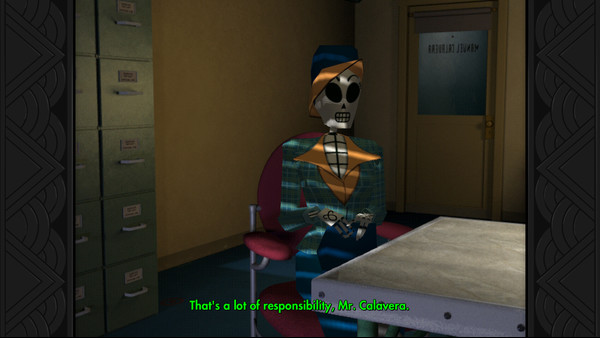 Grim Fandango Remastered screenshot 1