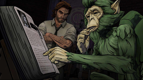 The Wolf Among Us screenshot 1