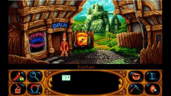 Simon the Sorcerer II: The Lion, the Wizard and the Wardrobe screenshot 1