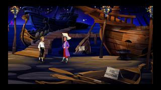The Secret of Monkey Island Special Edition screenshot 1