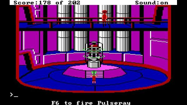 Space Quest: Chapter I - The Sarien Encounter screenshot 3
