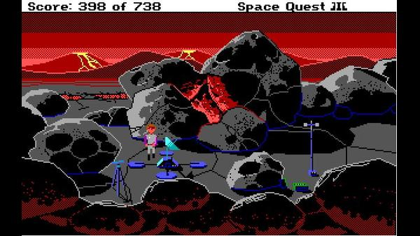 Space Quest III: The Pirates of Pestulon screenshot 4