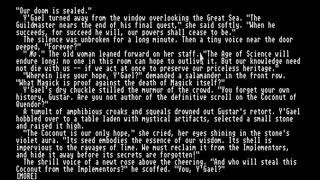 Beyond Zork: The Coconut of Quendor screenshot 1