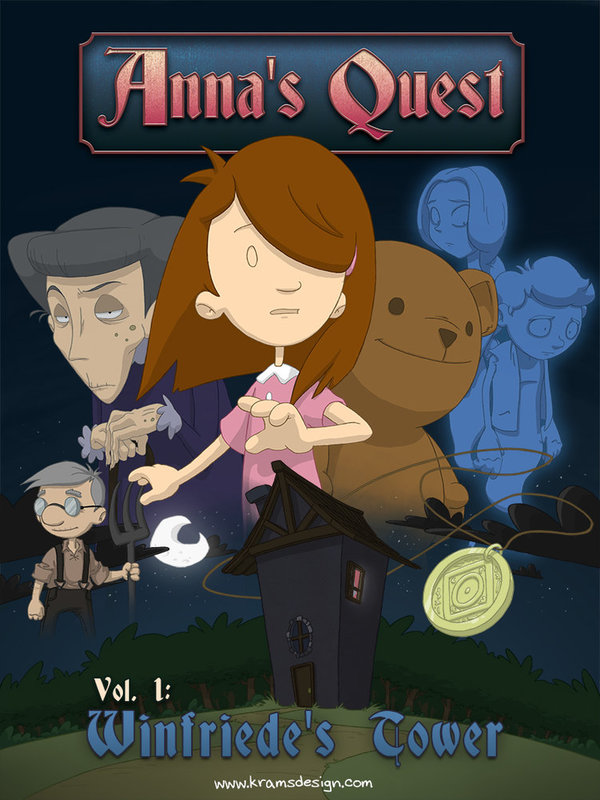 Anna's Quest: Volume 1 - Winfriede's Tower