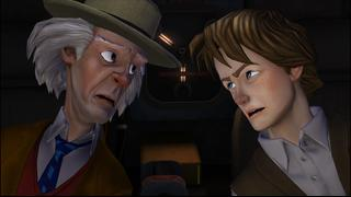 Back to the Future: The Game screenshot 4