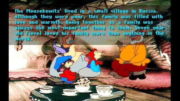 An American Tail - Fievel Goes West screenshot 1