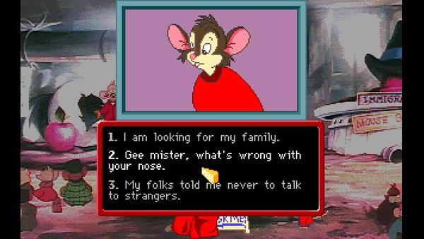 An American Tail - Fievel Goes West screenshot 2
