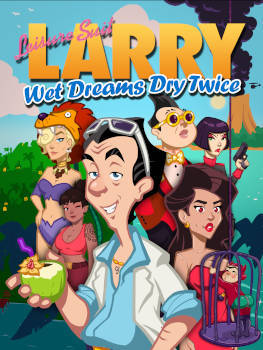 Leisure Suit Larry - Wet Dreams Dry Twice - borítókép